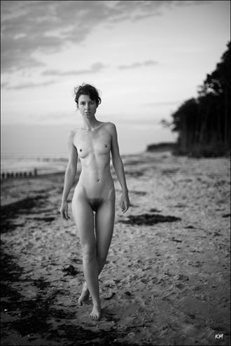 Artistic Nude Nature Photo by Model FAM