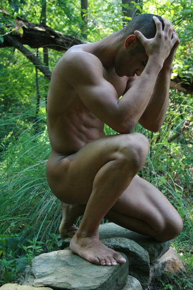 Artistic Nude Nature Photo by Model Felix Ramon