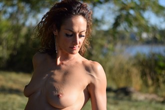 Artistic Nude Nature Photo by Model Goddess R