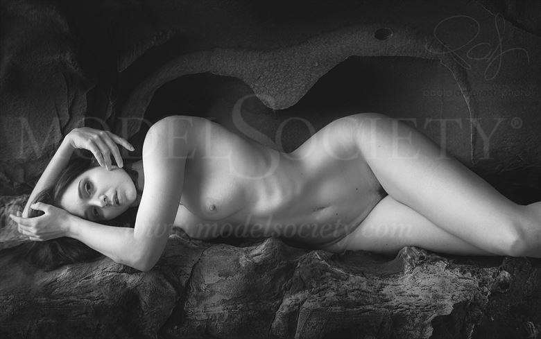 Artistic Nude Nature Photo by Model H%C3%A9rodiade