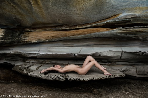 Artistic Nude Nature Photo by Model Ivy Rose Raven