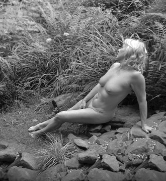 Artistic Nude Nature Photo by Model Jana