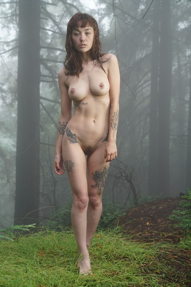 Artistic Nude Nature Photo by Model Juno LTK