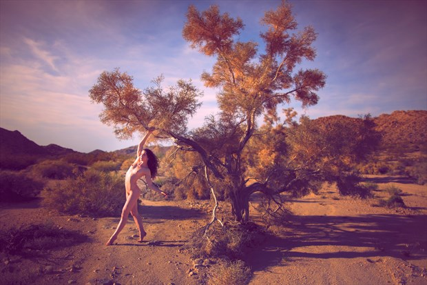 Artistic Nude Nature Photo by Model Keira Grant