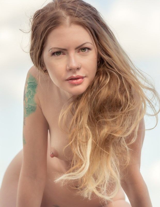 Artistic Nude Nature Photo by Model Kseniia