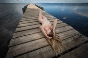 Artistic Nude Nature Photo by Model Kseniia