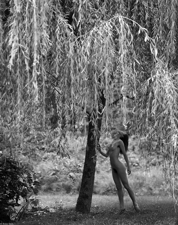 Artistic Nude Nature Photo by Model Kyotocat