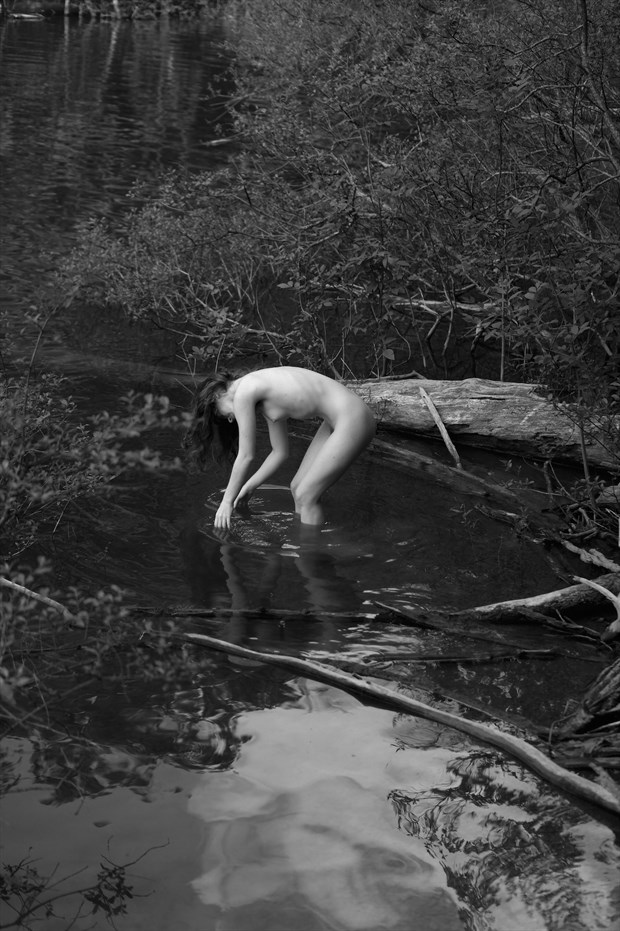 Artistic Nude Nature Photo by Model Liv Sage