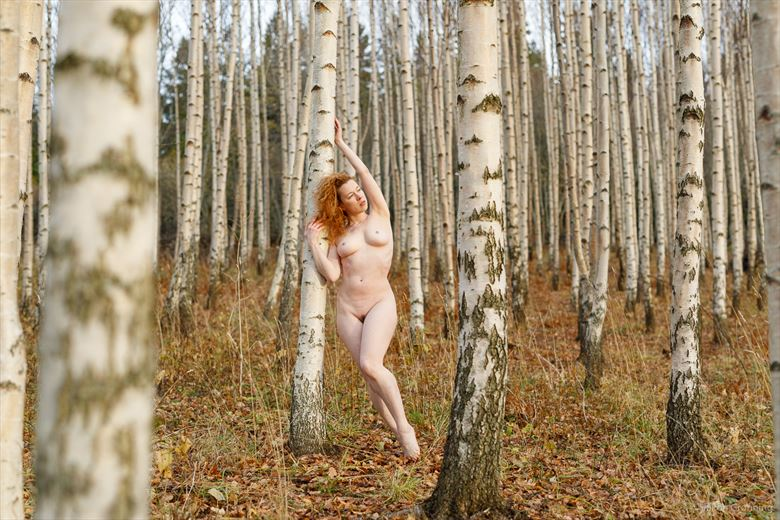 Artistic Nude Nature Photo by Model Loreley