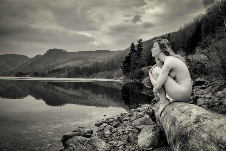 Artistic Nude Nature Photo by Model Lulu Lockhart
