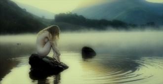 Artistic Nude Nature Photo by Model Lulu Lockhart