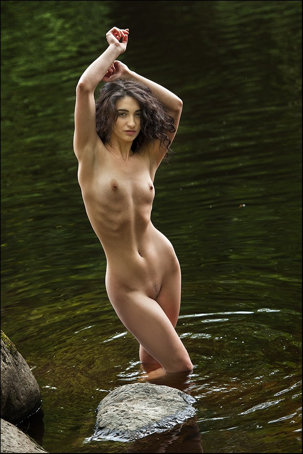 Artistic Nude Nature Photo by Model MISCHKAH