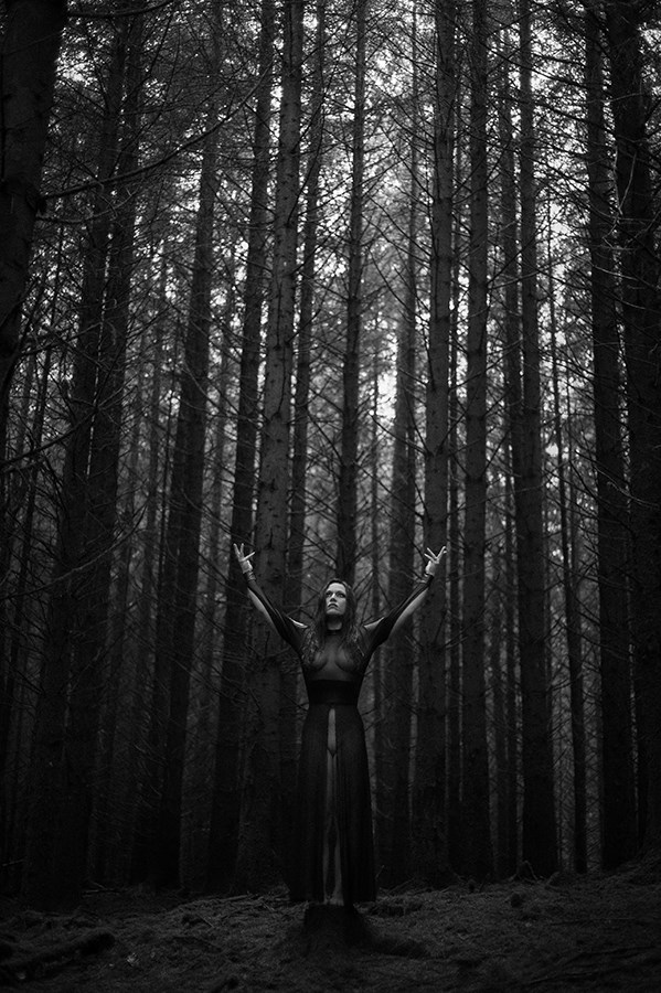 Artistic Nude Nature Photo by Model Marla Pandora