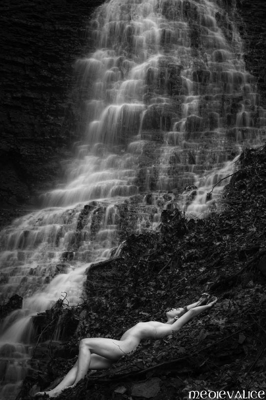 Artistic Nude Nature Photo by Model MikkiMarvel