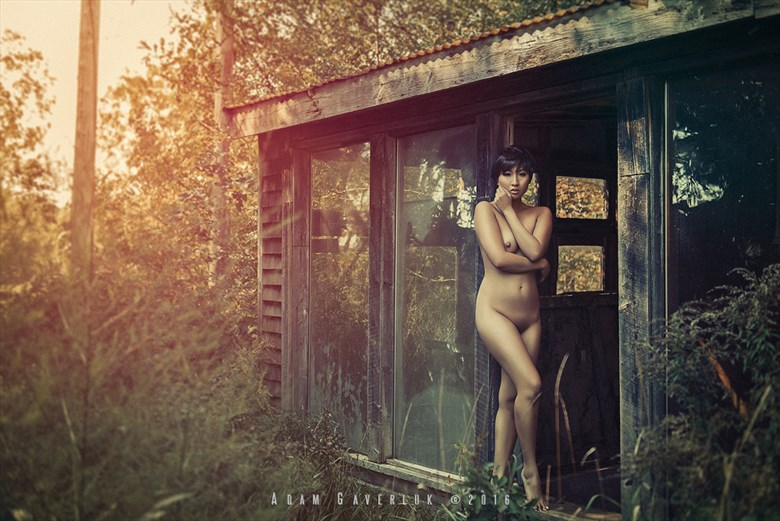 Artistic Nude Nature Photo by Model Minh Ly