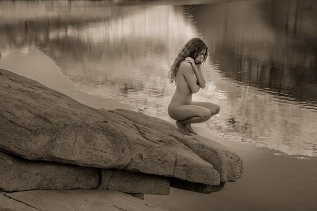 Artistic Nude Nature Photo by Model Monique