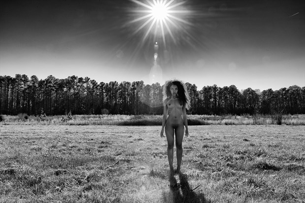 Artistic Nude Nature Photo by Model Morgan Rose