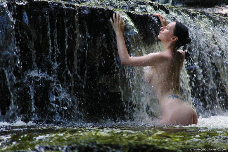 Artistic Nude Nature Photo by Model Ms Rose