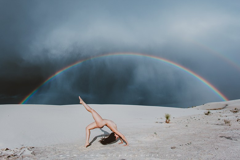 Artistic Nude Nature Photo by Model Nicole Vaunt