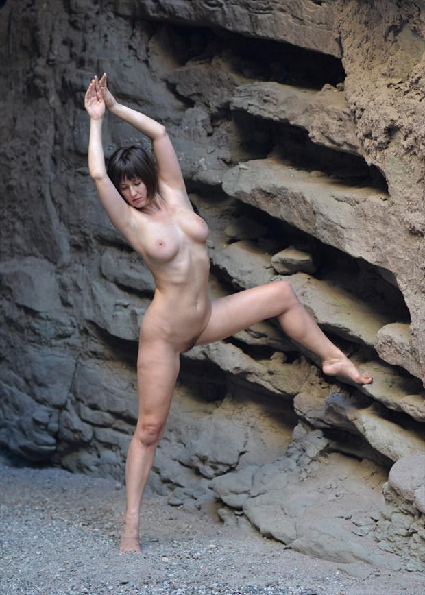 Artistic Nude Nature Photo by Model Nymph