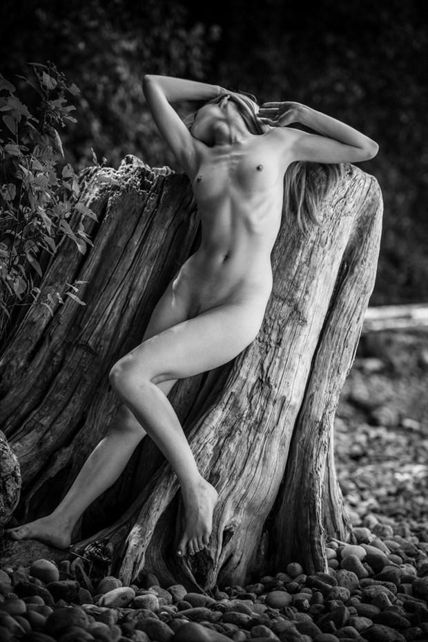 Artistic Nude Nature Photo by Model Olivia Preston