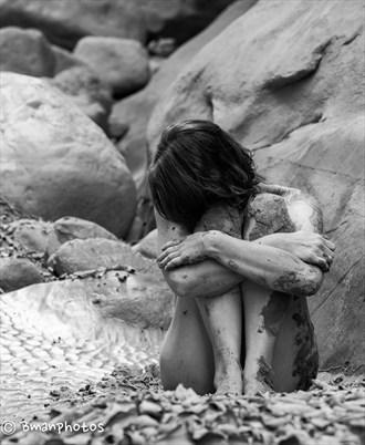 Artistic Nude Nature Photo by Model Rebecca Cameron
