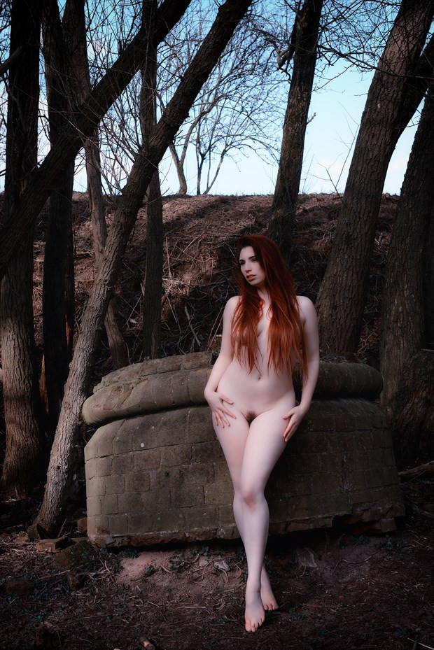 Artistic Nude Nature Photo by Model Roswell Ivory