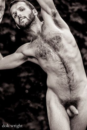 Artistic Nude Nature Photo by Model SILV