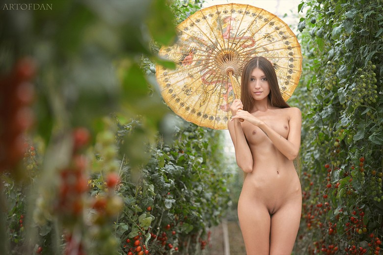 Artistic Nude Nature Photo by Model Saju