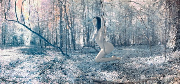 Artistic Nude Nature Photo by Model Satya