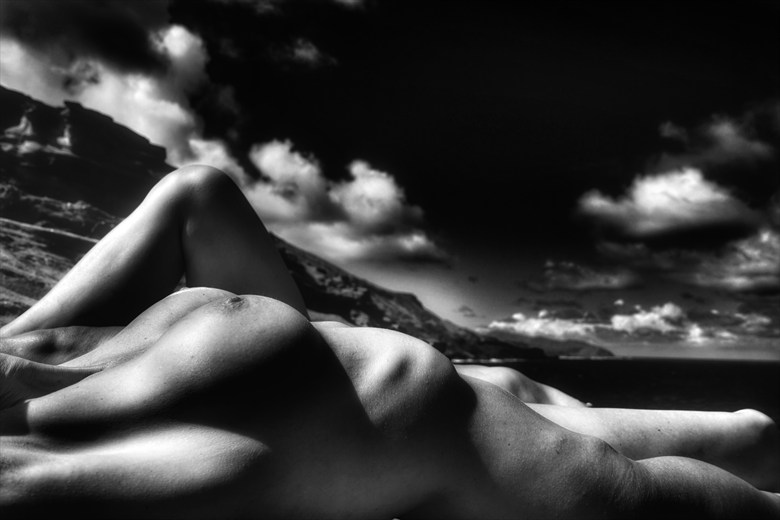 Artistic Nude Nature Photo by Model Savannah Costello
