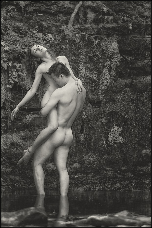 Artistic Nude Nature Photo by Model Vinny M