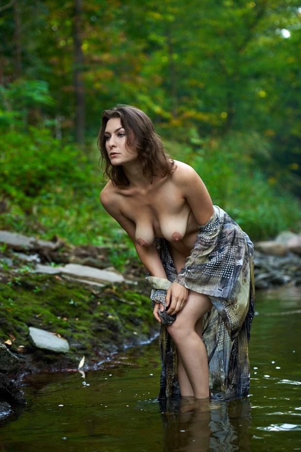 Artistic Nude Nature Photo by Model erin elizabeth