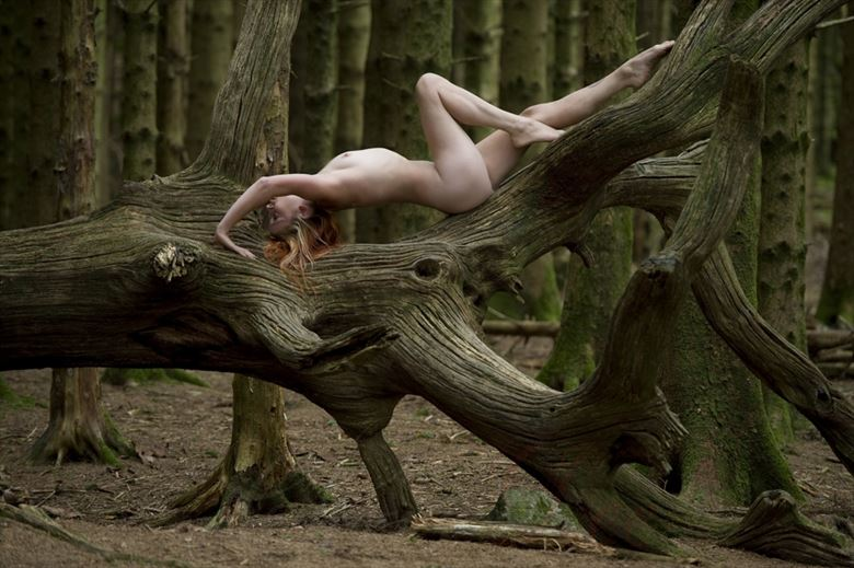 Artistic Nude Nature Photo by Photographer CD3