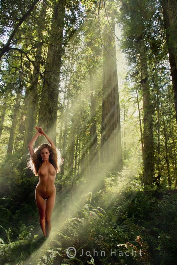 Artistic Nude Nature Photo by Photographer John Hacht