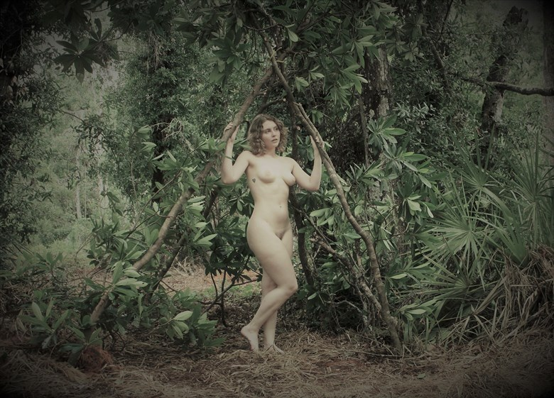 Artistic Nude Nature Photo by Photographer Lisa Paul Everhart