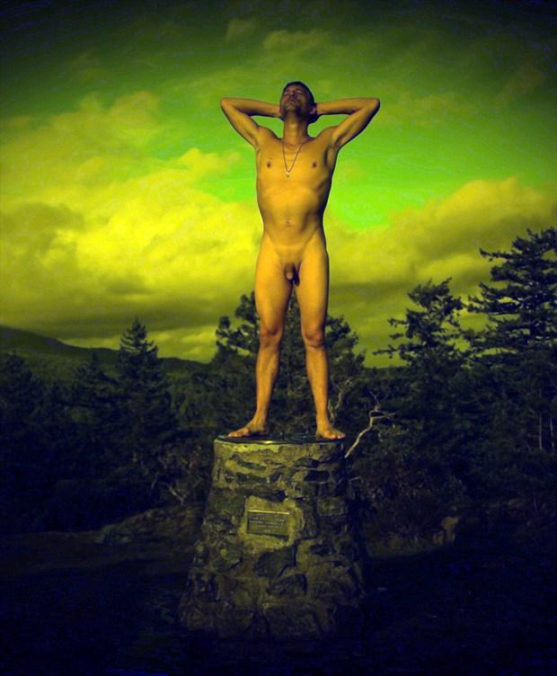 Artistic Nude Nature Photo by Photographer Steve Lamothe