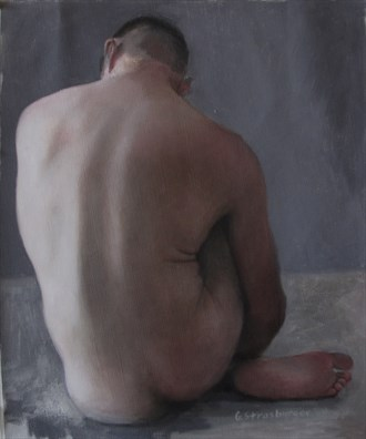 Artistic Nude Painting or Drawing Artwork by Artist rogerrembrandt