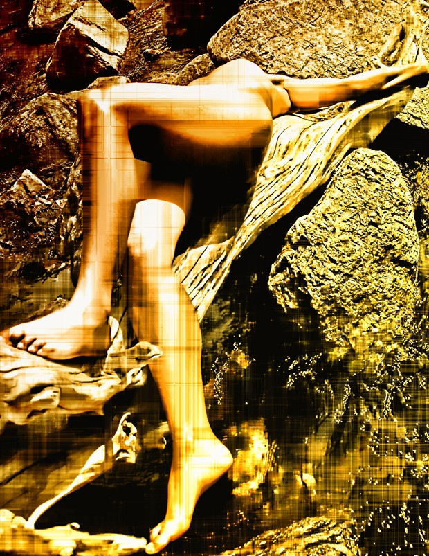 Artistic Nude Photo Manipulation Artwork by Photographer NUDE DREAMS