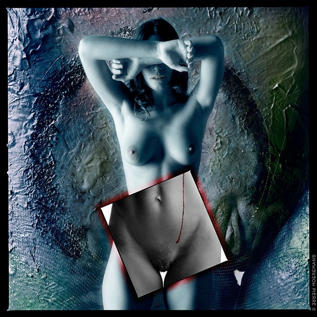 Artistic Nude Photo Manipulation Artwork by Photographer Pierre Moeremans