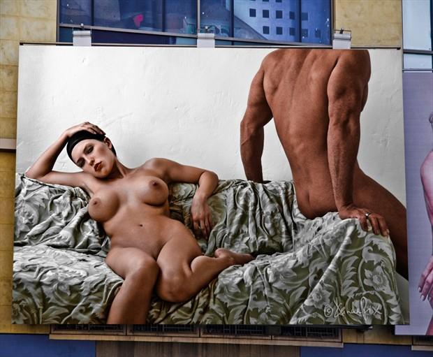 Artistic Nude Photo Manipulation Photo by Model Katz Pajamaz