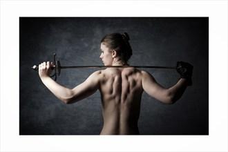 Artistic Nude Photo by Model Alandra Ivari