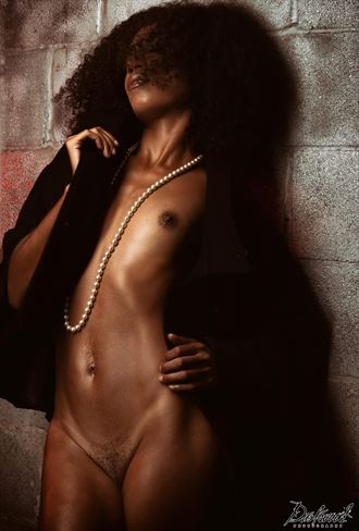 Artistic Nude Photo by Model Aly Jhene