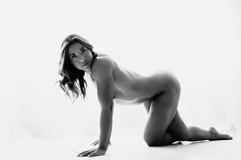Artistic Nude Photo by Model Bianca