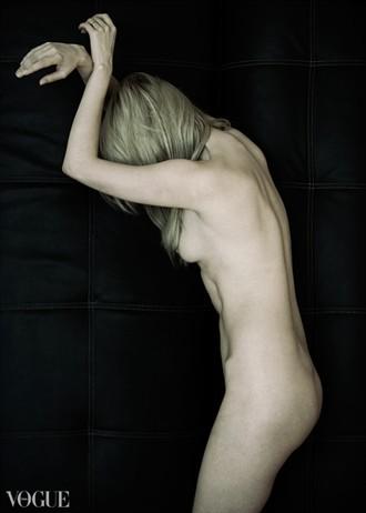 Artistic Nude Photo by Model Carla Monaco