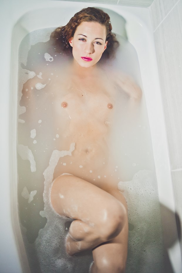 Artistic Nude Photo by Model Kirsten page