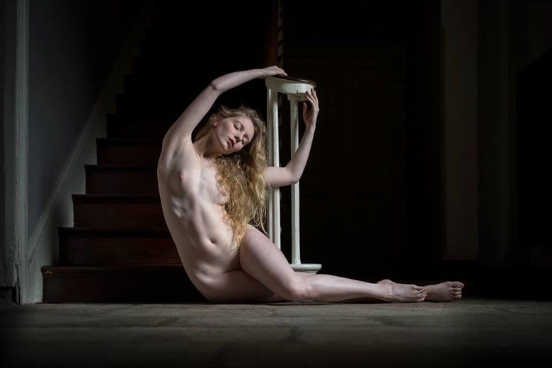 Artistic Nude Photo by Model Lulu Lockhart