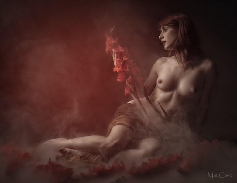 Artistic Nude Photo by Model Peliroja