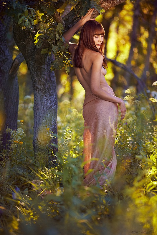 Artistic Nude Photo by Photographer Anna Monogarova