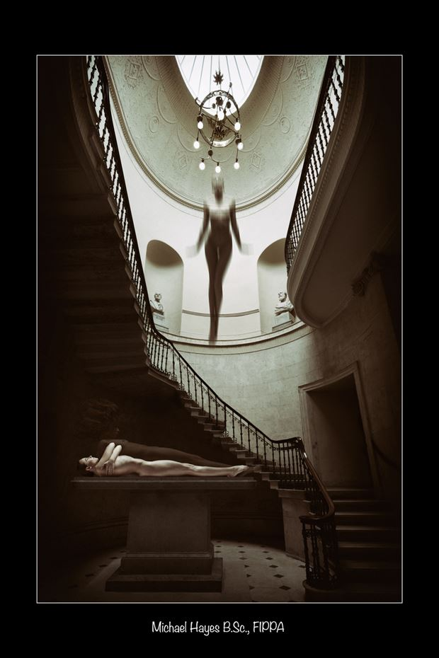 Artistic Nude Photo by Photographer Michael